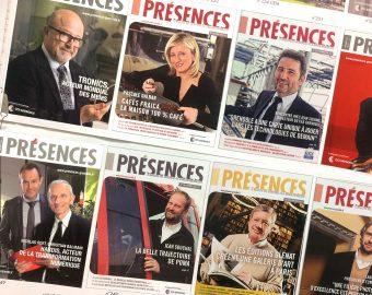 magazine Présences CCI de Grenoble