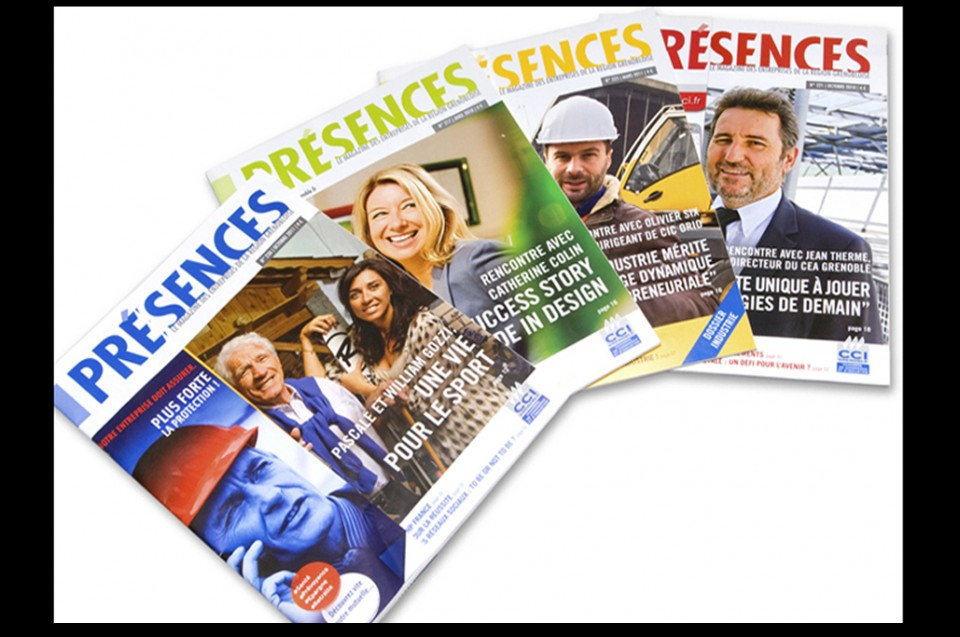 Magazine Présences, cci Grenoble