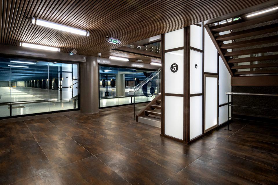 Tomasini design, architecte, parking Confluence, Lyon
