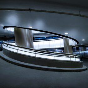 Tomasini design parking Confluence, Lyon